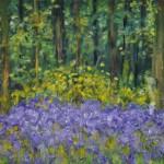 Lavendel 20 x 30 cm 120 € ( ohne Rahmen )